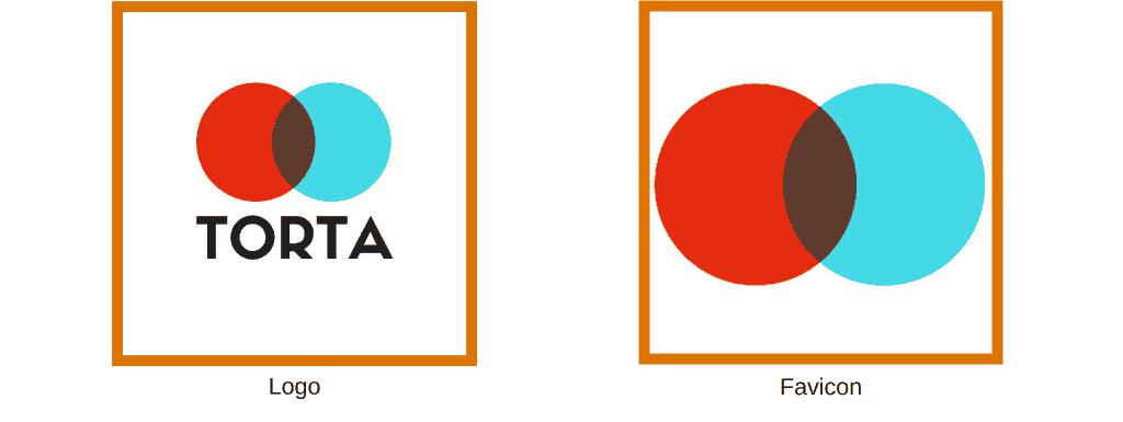 So sánh Favicon và Logo