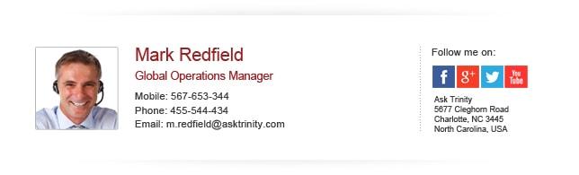 Chữ ký email chuyên nghiệp