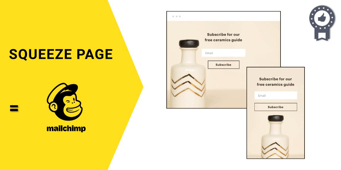 Hướng dẫn sử dụng Mailchimp để tạo Sqeeze Page miễn phí