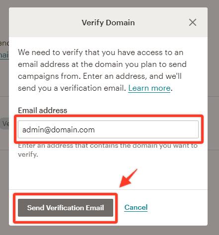 Nhap Email Ten Mien Vao