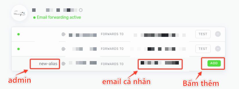 Chuyen Tiep Email Improvmx