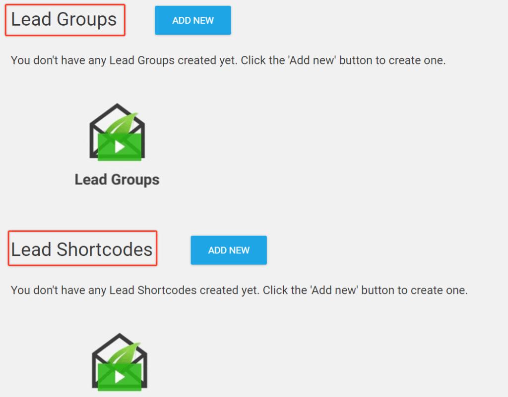 Lead Groups Va Lead Shortcode