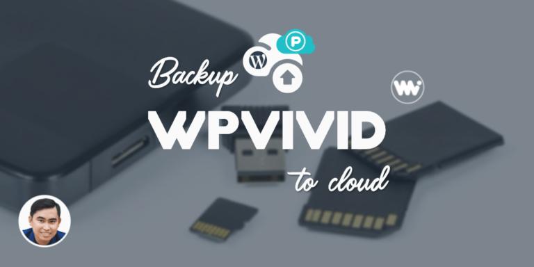 Hướng dẫn incremental backup website wordpress với WPvivid Pro