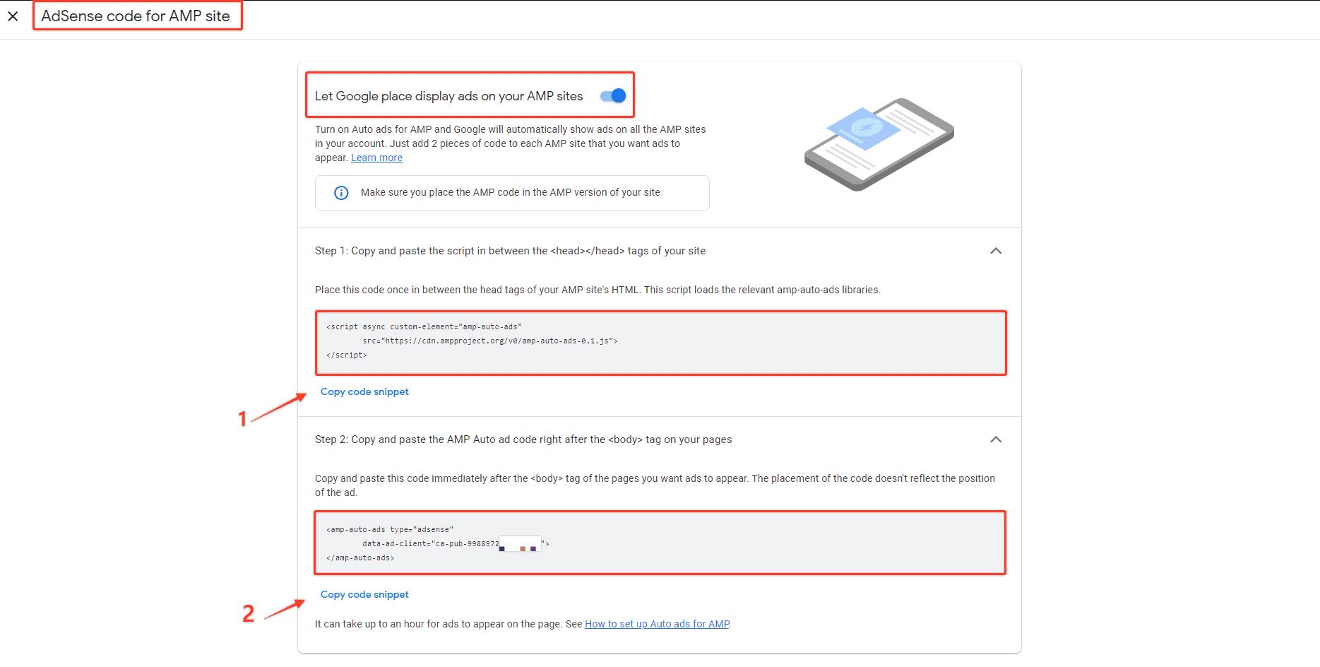 Cach Chen Google Adsense Amp