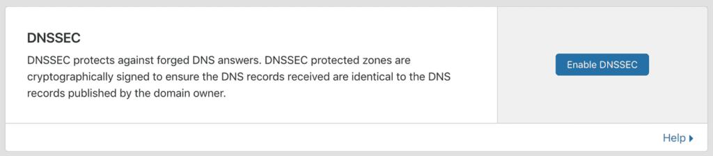 DNSSEC bảo vệ DNS của bạn (Tài khoản Free)